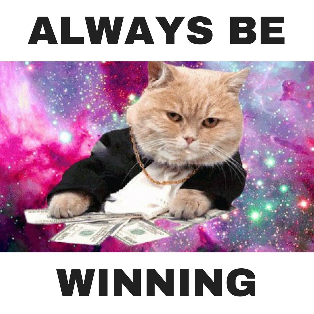 Always Be Winning