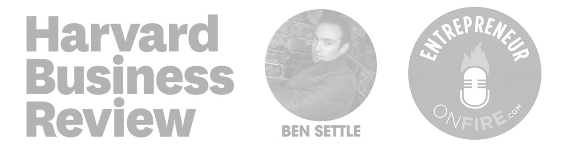 As featured in Harvard Business Review, Ben Settle's Email Players, and Entrepreneurs on Fire
